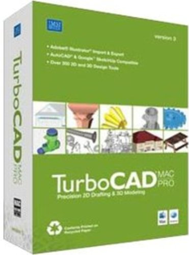 Turbocad Mac Pro V3 2D & 3D Cad for Mac [Old Version]