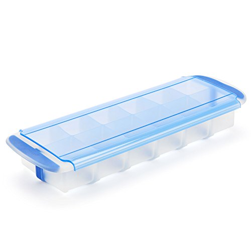 Cook Tray - GoodCook 20513, Prep and Freeze Stackable, Easy Release Silicon Cube Tray, 2-ounce Ice Cubes, Baby Food, Herb Butter, Cold Brew Cubes