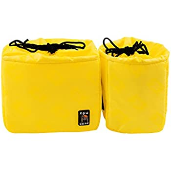 amazon com ape case cubeze duo camera insert black yellow