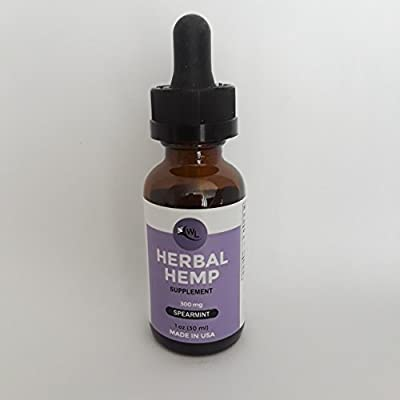 White Lotus Herbal Hemp Oil Supplement Drops