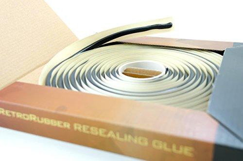 RetroRubber OEM Grade Butyl Headlight Sealant, Black