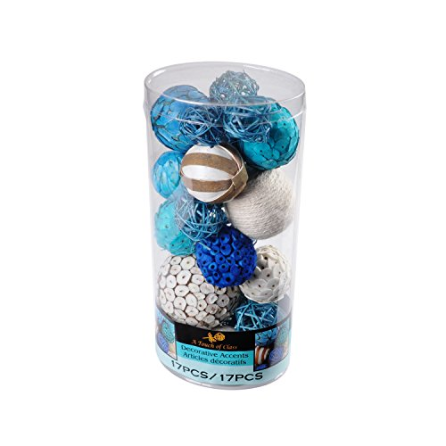 Lerman Decor WBF115 Decorative Bowl Filler (Home Decor Balls)