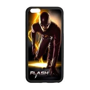 Personalized iPhone 6 Case, The Flash Comics Superhero iPhone Case, Custom iPhone 6 Cover (4.7 inch)