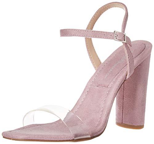 Bcbg Shoes Com - BCBG Generation Women's Ilsie Dress Sandal Pump, Lilac/Clear, 8 M US