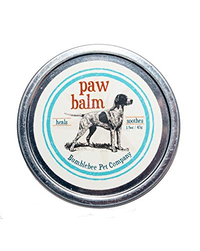Bumblebee Pet Co. Paw Balm for chapped, Dry Dog Paws. Natural Dog Remedy for Your Dog, paw Wax Treatment (Rub Paw Dog)