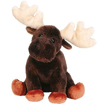 0d962c4dbbf Amazon.com  TY Beanie Baby - Zeus the Moose by TY~BEANIES ANIMALS  Toys    Games