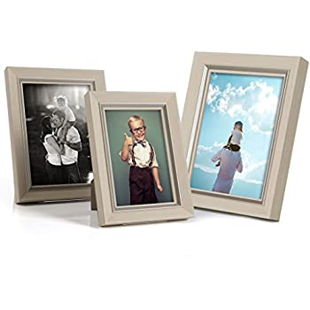 Amazoncom Multi Size Picture Frame Set Of 3 Include 6x8 5x7 4x6