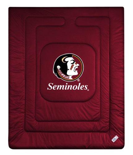 NCAA Florida State Seminoles Locker Room Comforter Queen
