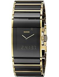 Mens R20799152 Integral Black Digital Dial Stainless Steel Case Watch. Rado