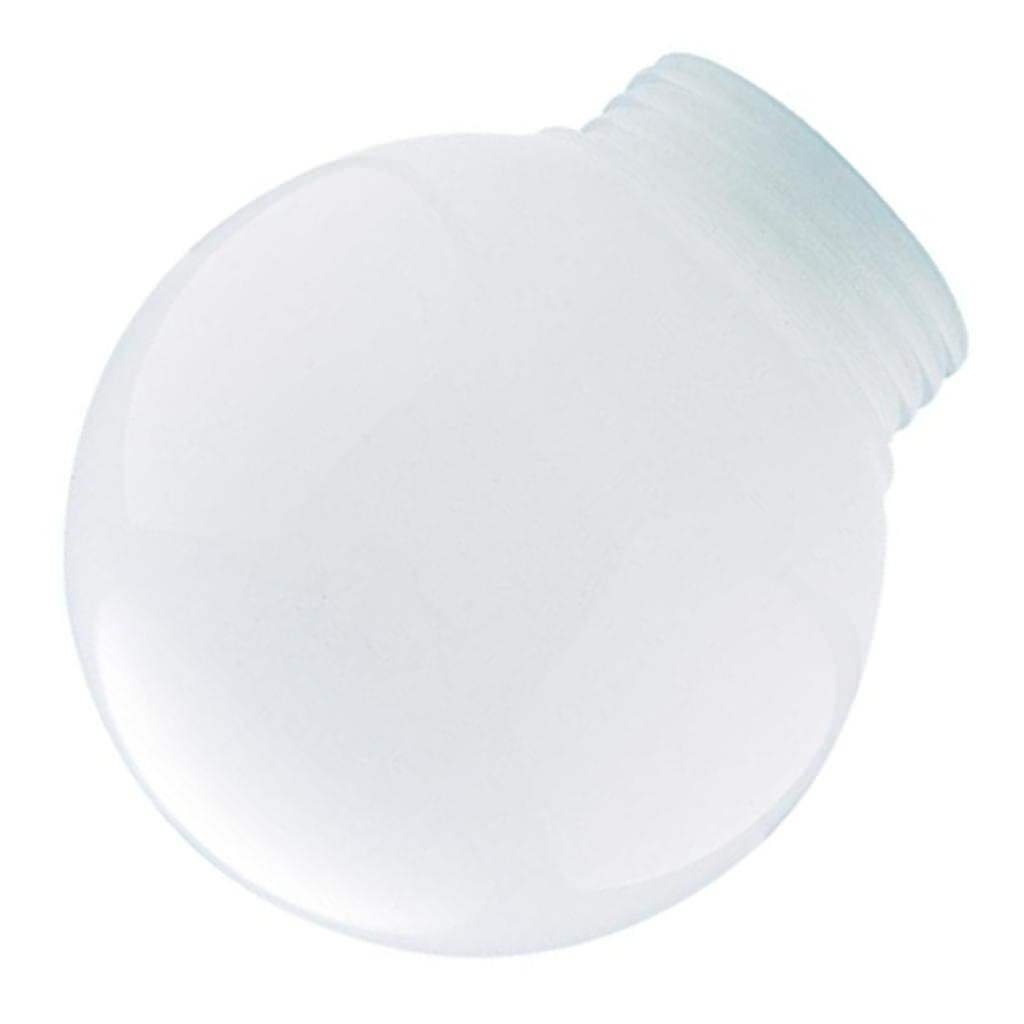 Westinghouse 6 in. White Polyethylene Threaded Neck Globe