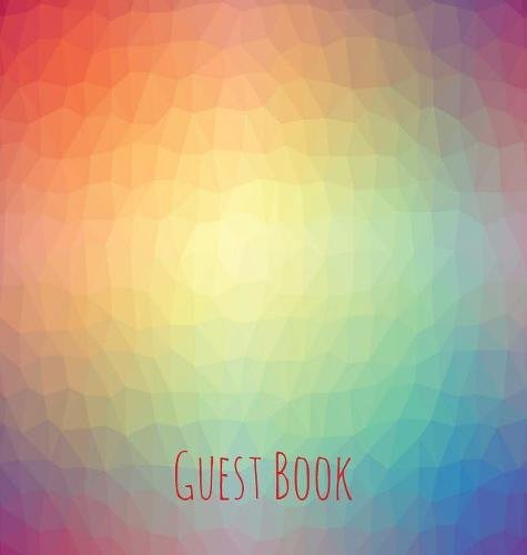 Guest Book, Guests Comments, Visitors Book, Vacation Home Guest Book, Beach House Guest Book, Comments Book, Visitor Book, Colourful Guest Book. Centres, Family Holiday Guest Book (Hardback)