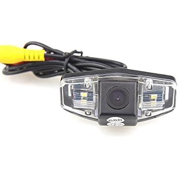 CAR ROVER 12V Night Vision Car Rearview Reverse Backup Camera for Honda Jazz/ Accord/ Civic EK