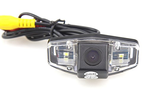 CAR ROVER® 12V Night Vision Car Rearview Reverse Backup Camera for Honda Jazz/ Accord/ Civic EK