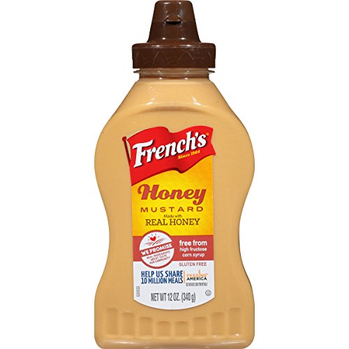 French's Honey Mustard, 12 oz, Made With Top Grade Mustard Seeds