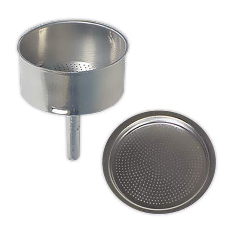 Embudo + Filtro cafetera 9 tazas | TECNHOGAR diámetro 73 mm ...