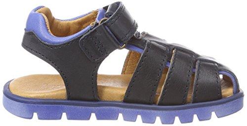 Froddo Children Sandal G3150105, Sandalias con Punta Cerrada Para Niños Azul (Dark Blue)