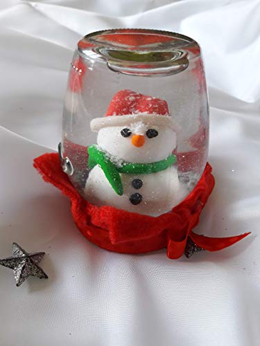 Snowglobe Decoration - Snow globe - handmade, Christmas decoration, Snowman, Christmas gifts, Christmas Snow globe, Snow, Christmas Snow Globes for Children, Christmas gifts for Children, Snow Globes Snowman, Snow Globes