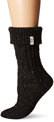 UGG Women's Sienna Short Rainboot Sock, Black, O/S for sale  Delivered anywhere in USA