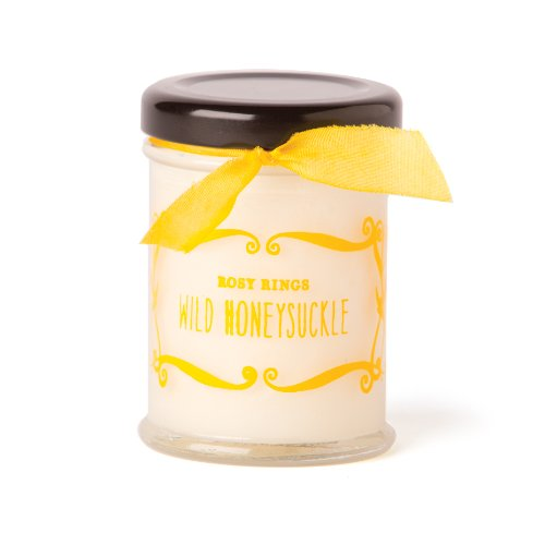 Rosy Rings Cottage Garden Collection Candle, Wild Honeysuckle (Candle Cottage Garden)