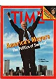 Mayor Ed Koch Cover Time Magazine June 15, 1981 - Raiders of the Lost Ark