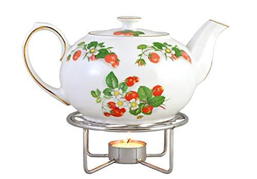 (Teapot Warmer - Chrome Plated)