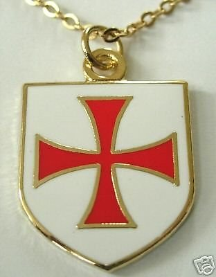 Amazon crusaders templar knights order shield cross necklace crusaders templar knights order shield cross necklace aloadofball Image collections