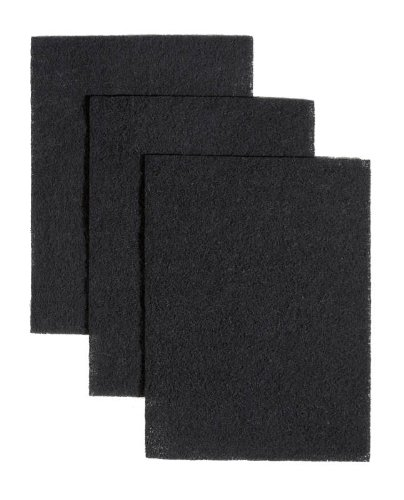 Broan-NuTone BP58 Non-Duct Charcoal Filter Pads for 43000 Series Range Hood, 7.75″ x 10.5″, Set of 3