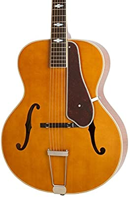 Epiphone Masterbilt Century Collection De Luxe Classic F-Hole Archtop Acoustic-Electric Guitar, from Epiphone