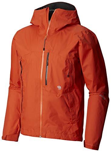 - Mountain Hardwear Mens Exposure/2 Gore-Tex Paclite Jacket, State Orange, Large