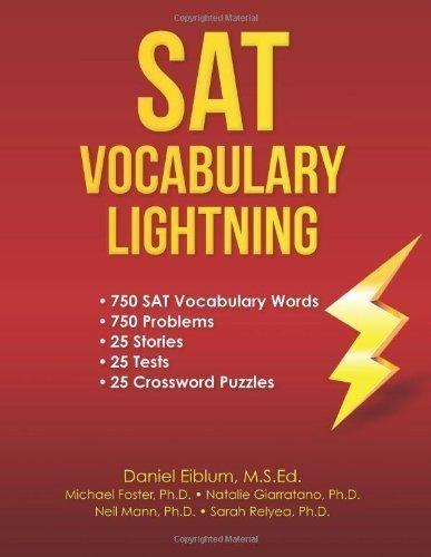SAT Vocabulary Lightning by Eiblum, Daniel C., Liflig, Fugate, Malpaya, Alvin, McGraw, E (2012) Paperback