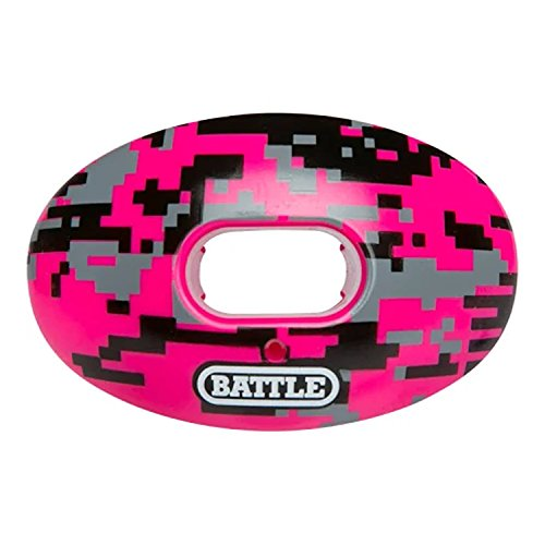 Battle Camo (Battle Sports Oxygen Camo Limited Edition, Pink, Adult/Youth)