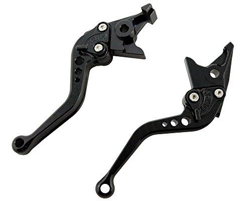 Short Brake Clutch Lever Set For Suzuki GSXR 600 750 06-10 & GSXR1000 05 06