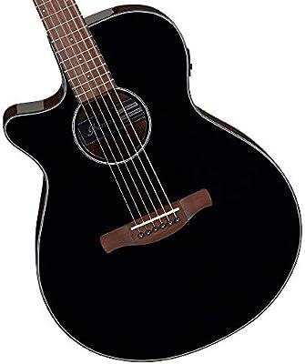 Ibanez AEG50L Black High Gloss - Guitarra acústica para zurdos ...
