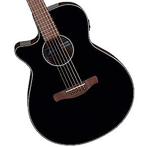 Ibanez AEG50L Black High Gloss – Linkshänder Westerngitarre