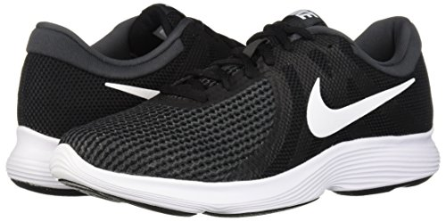 Nike Men's Revolution 4 Running Shoe, Black/White-Anthracite, 8 Regular US by Nike (Image #5)