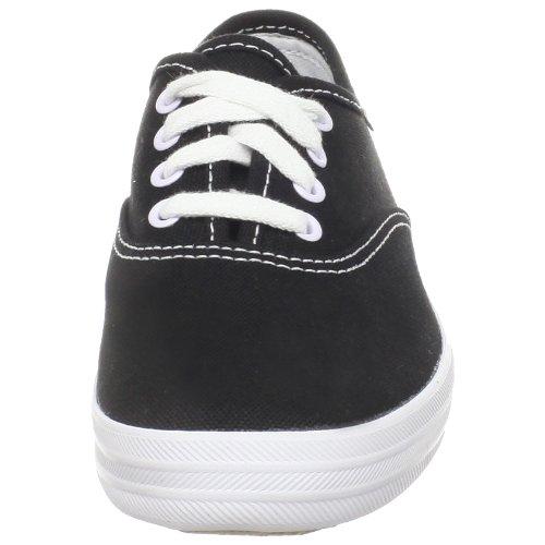 Keds Original Champion CVO Sneaker (Toddler/Little Kid/Big Kid) Black/White