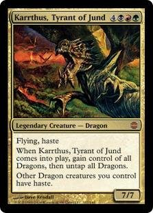 Magic: the Gathering - Karrthus, Tyrant of Jund - Alara ()