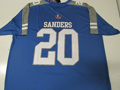 Detroit Lions Mens 5X Barry Sanders #20 Hall of Fame Jersey ALIO 101 5X - Barry Sanders Football Jersey