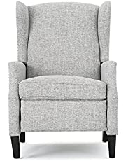 Christopher Knight Home Weyland Wingback Traditional Fabric Recliner