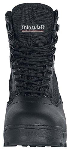 Brandit Táctica Side Zip Botas Negro Negro