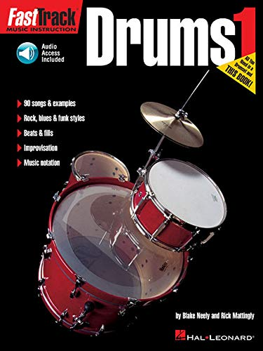 (FastTrack Music Instruction - Drums, Book 1 (Fasttrack Series))