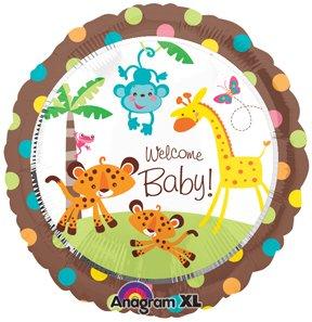 fisher price zoo jungle welcome baby shower safari rainforest polka
