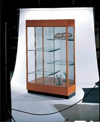 Heritage Accessory Cornice/Light Fixture (for 891 Series) Wood Color: Honey Maple Hardwood
