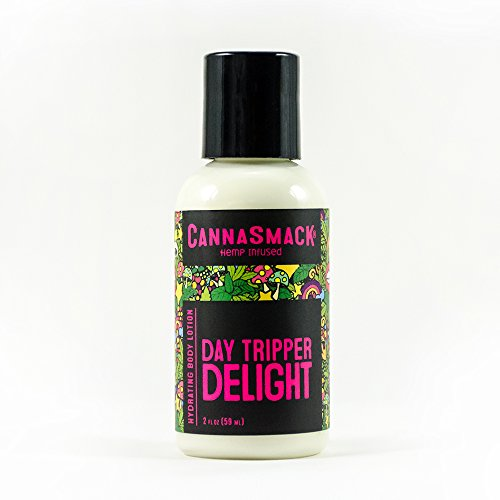 CannaSmack DayTripper Delight Hydrating Hemp Body Lotion (2oz)
