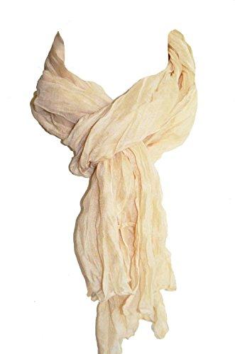 ae23ed05dd07 KARL LOVEN Femme - Homme - Enfant - Foulard - 1M75 - étole - pashmina -  écharpe - cache-col - cheich (Beige)  Amazon.fr  Vêtements et accessoires