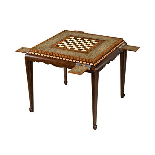 Art Deco Rosewood Veneered and Mahogany Games Table Art Deco Rosewood Table