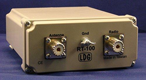 LDG Electronics RT/RC-100 RT-100 Watt Remote mount Tuner and RC-100 Control Unit - Remote Mount Electronic