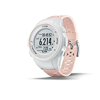 Epson ProSense 17 GPS Running Watch with Activity Tracking - Pink