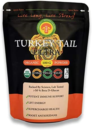 Organic Turkey Tail Mushroom Powder Extract