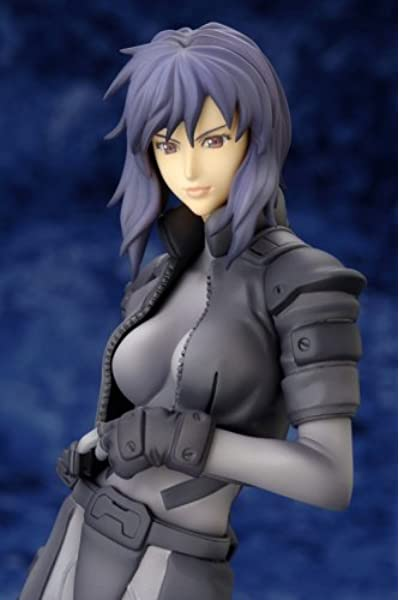 Amazon Com Ghost In The Shell Motoko Kusanagi Sac 2nd Gig Pvc Statue Toys Games